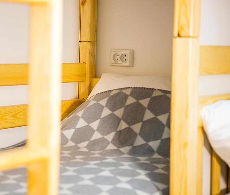 imagen cama hostal