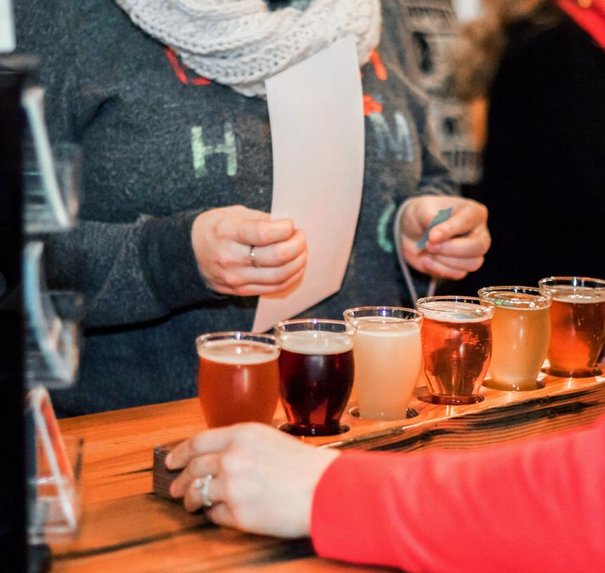 cata de cervezas Santander